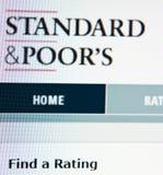 Grados estándar y de los pobres Foto de archivo libre de regalías