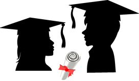 Grads Royalty Free Stock Image