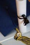 graduação 2007 Imagem de Stock
