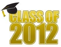 Graduação 2012 ilustração stock