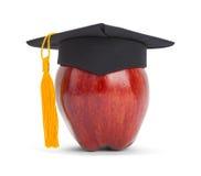 Graduação Apple fotografia de stock
