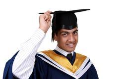 Graduação com trajeto de grampeamento Imagem de Stock Royalty Free