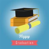 Graduação feliz Foto de Stock Royalty Free