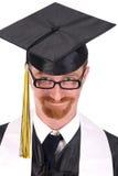 Graduação feliz um homem novo Imagem de Stock Royalty Free
