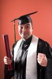 Graduação um homem imagens de stock