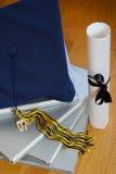 graduación 2007 imagen de archivo libre de regalías