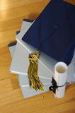 graduación 2007 Fotos de archivo