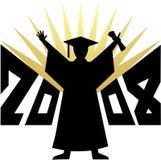 Graduación 2008/eps Imágenes de archivo libres de regalías