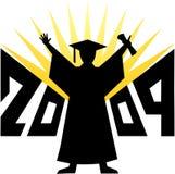 Graduación 2009/eps Imágenes de archivo libres de regalías
