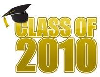 Graduación 2010 stock de ilustración