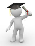 Graduación stock de ilustración
