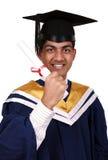 Graduación con el camino de recortes Fotos de archivo