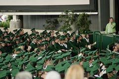Graduación de estudios secundarios de 2012 primaveras Fotos de archivo libres de regalías