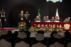 Graduación de la LXXXVIII promoción de Escuela Militar stock photography