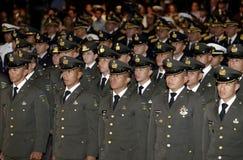 Graduación de la LXXXVIII promoción de Escuela Militar royalty free stock images