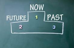 Graduación del futuro y del pasado Fotografía de archivo