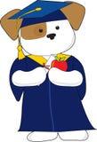Graduación linda del perrito Fotografía de archivo libre de regalías
