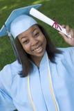 Graduado adolescente foto de archivo libre de regalías