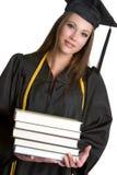Graduado com livros Fotos de Stock