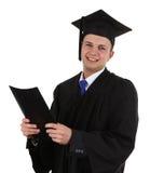 Graduado com um arquivo Imagem de Stock