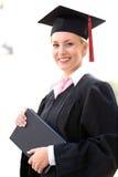 Graduado da fêmea Fotografia de Stock