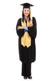 Graduado da fêmea Imagens de Stock Royalty Free