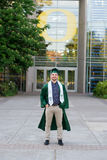 Graduado da faculdade no terreno em Oregon Fotos de Stock