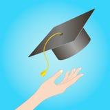 Graduado de cargo Imagens de Stock