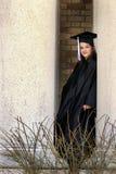 Graduado de la escuela secundaria fotos de archivo libres de regalías
