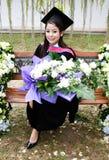 Graduado de la universidad. Foto de archivo libre de regalías