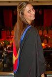 Graduado de la universidad foto de archivo libre de regalías