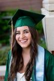 Graduado de la universidad en campus en Oregon Fotos de archivo