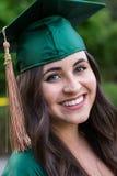 Graduado de la universidad en campus en Oregon Fotos de archivo libres de regalías