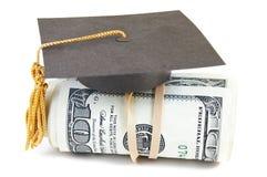 Graduado del sueldo Imagen de archivo libre de regalías