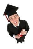 Graduado del varón Foto de archivo