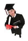 Graduado del varón Imagenes de archivo