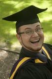 Graduado divertido Fotografía de archivo