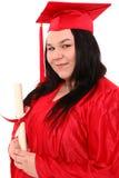 Graduado do ensino para adultos imagem de stock royalty free