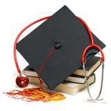 Graduado dos cuidados médicos foto de stock