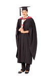 Graduado fêmea do indian imagens de stock royalty free