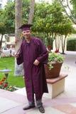 Graduado feliz Imagen de archivo