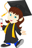 Graduado feliz libre illustration