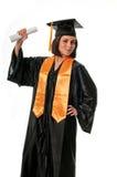 Graduado feliz y orgulloso fotos de archivo libres de regalías