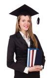 Graduado joven aislado Fotografía de archivo libre de regalías