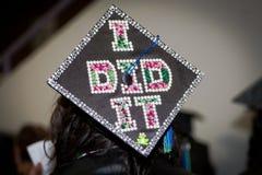 Graduado orgulloso Imagenes de archivo