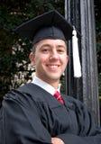 Graduado orgulloso Foto de archivo libre de regalías