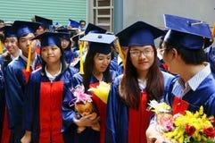 Graduado, recursos humanos novos Imagem de Stock