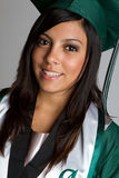 Graduado sonriente Imagen de archivo libre de regalías