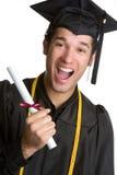 Graduado sorprendido Foto de archivo libre de regalías
