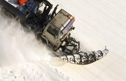 Graduador de la nieve Fotos de archivo